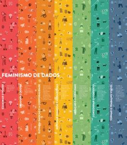 Data Feminism Infographic in Portuguese